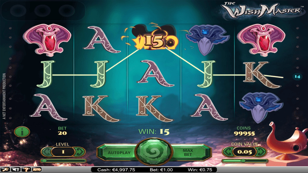 The Wish Master Slot Released By Net Entertainment