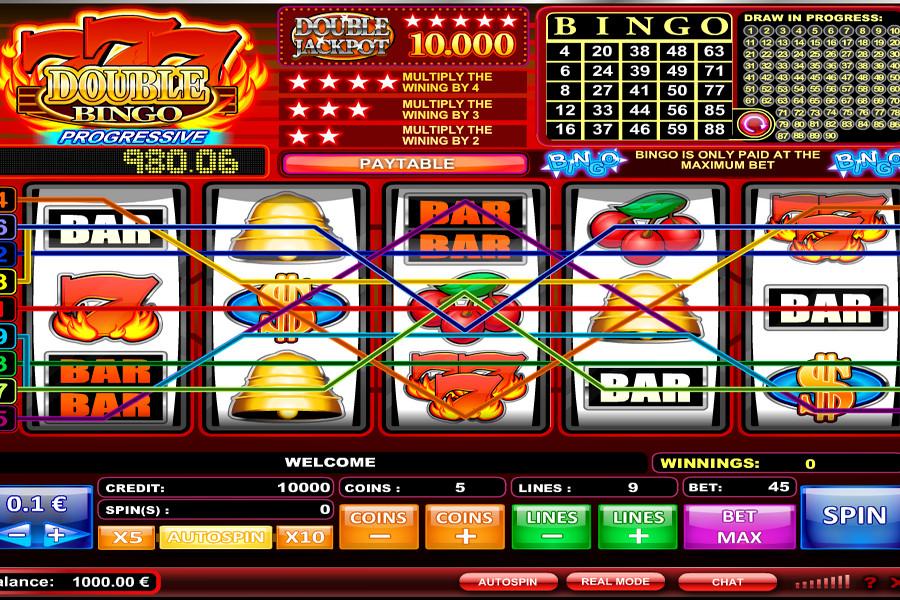 777 Double Bingo Slot Machine
