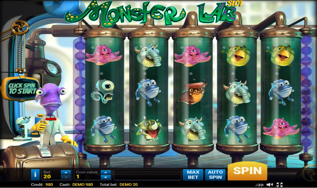 Spiele Monster Lab - Video Slots Online